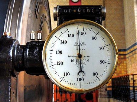 Tachometer, Hertz, Speed, Gauge, Revolutions