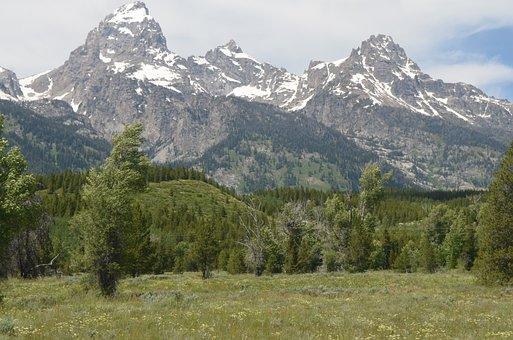 Grand Teton National Park, Mountain, Grand, Park, Teton