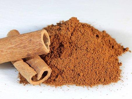 Cinnamon, Sticks, Ground, Spice, Food, Ingredient