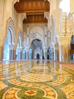 Casablanca, Hassan Ii, Mosque, Morocco, Hassan