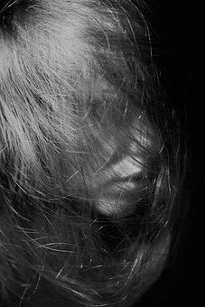 Model, Exposure, Black And White, Fine Arts, Human