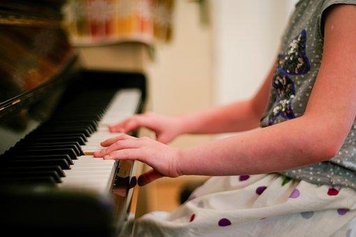Piano, Children, Child, Music, Instrument, Musical