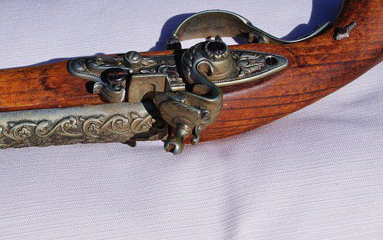 Pistol, Muzzleloader, Weapon, Old, Fire Weapon