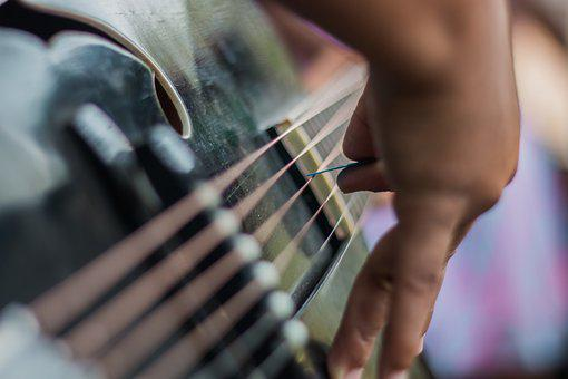 Guitar, Music, Playing, Hands, Play, Instrument