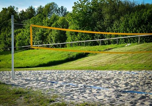 Beach Volleyball, Volleyball, Playing Field, Team Sport