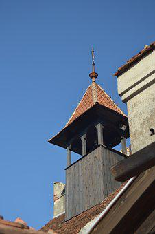 Romania, Castle, Bran, Bran Castle, Tower