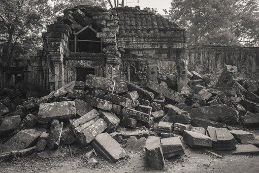 Cambodia, Siem Reap, Ta Prohm Temple, Angkor