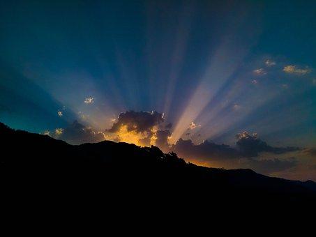 Sunlight, Sunrise, Sunset, Dawn, Dusk, Nature, Sun, Sky