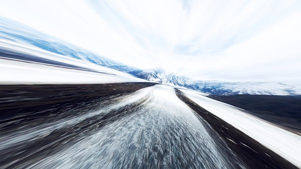 The Scenery, Background, Speed, Snow And Ice, Snow
