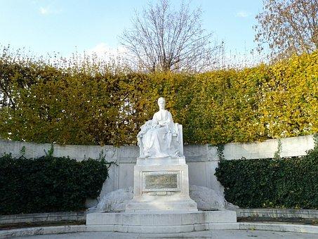 Vienna, People's Garden, Elisabeth, Places Of Interest