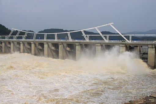 Eight Per Dam Stocked, Han River, Water