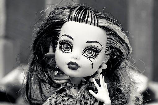 Doll, Gothic, Horror, Face, Halloween, Weird, Scary