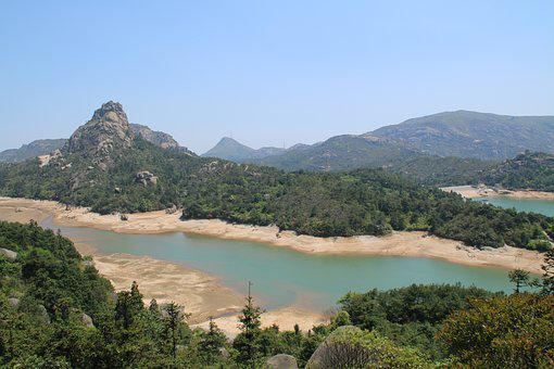 Tianhe Reservoir Overlooking The, Roshan Top, Wenzhou