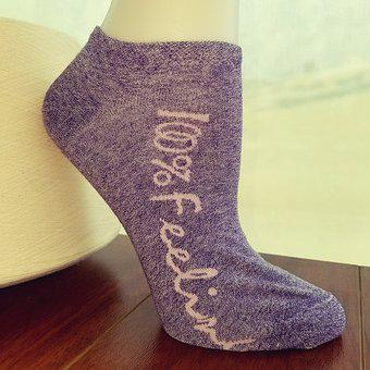 Sock, All Cotton, 100 Feeling
