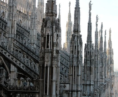 Dom, Church, Milan, Architecture, Italy, God, Beautiful