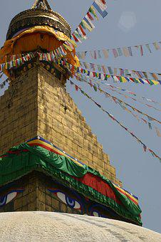 Kathmandu, Boudhanath, Stupa, Nepal, Temple, Prayer
