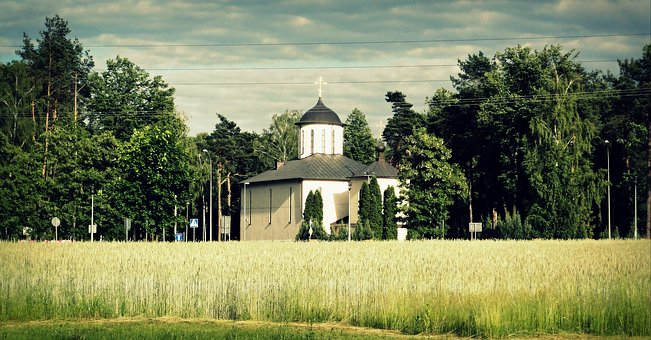 Church, View, Summer, Architecture, Religion, Building