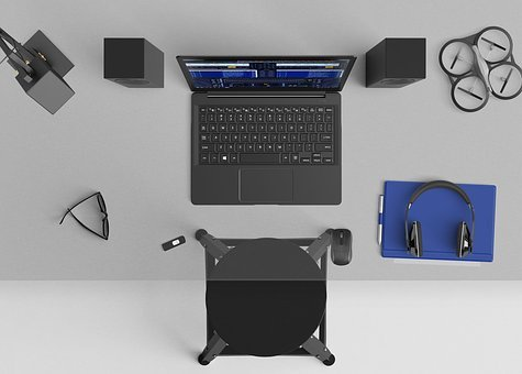 Desktop, Mixing, Speakers, Microsoft Surface, Workspace