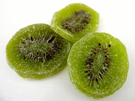 Kiwi, Fruit, Dry, Frosted, Dried, Sweet