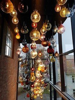 Hadeland Glassverk, Art, Lamps