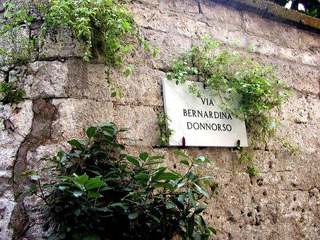 Sign, Italy, Italian Sign, Italian, Travel, Tourism