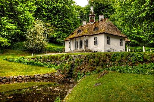 Món, Liselund, Island, Denmark, Landscape, Nature
