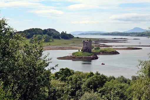 Castle, Ruin, Lost Places, Fairytale, Knight, Excalibur