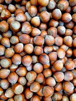 Hazelnuts, Nut, Nuts, Food, Brown, Market, Shell