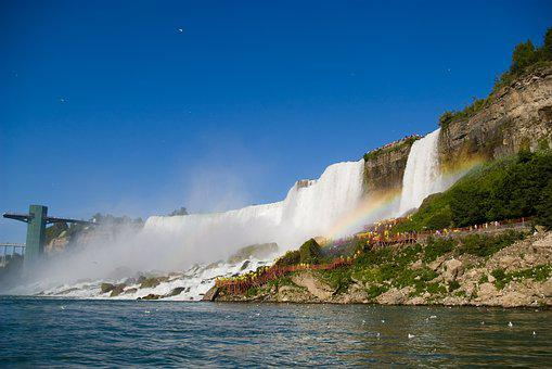 Niagara, Falls Wa, Nature, River, Water, Landscape