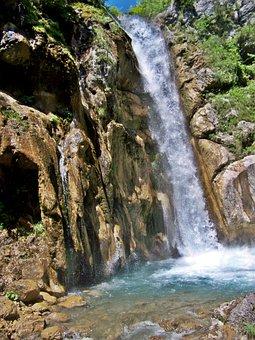 Natural Spectacle, Waterfall, Rapids, Karawanken