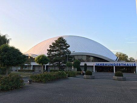 Century Hall, Frankfurt, Rhein-main, Architecture