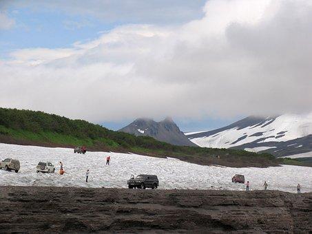 The Roads, Suvs, Mountain Plateau, Summer, Sneznik