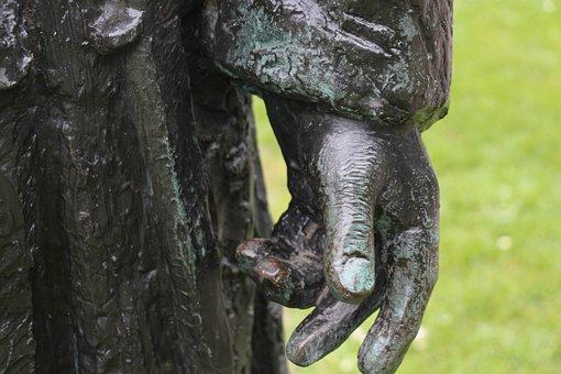 Hand, Statue, Soldier