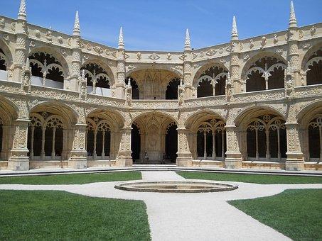 The Jerónimos Monastery, Tourism, Portugal