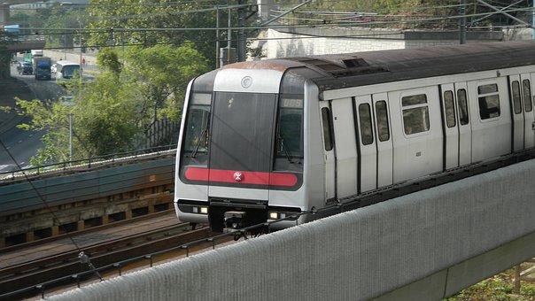 Hongkong, Metro, Train, Rail, Railway, City, Subway