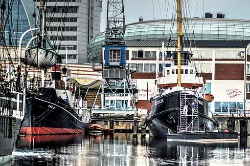 Wilhelmshaven, Port, Tug, Tugs