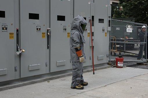 Bomb Suit, Electricity, Danger