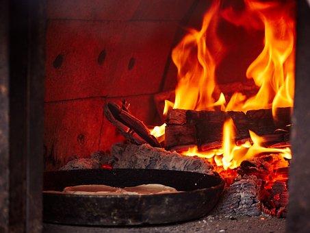 Russian Oven, Perepechi, Fire