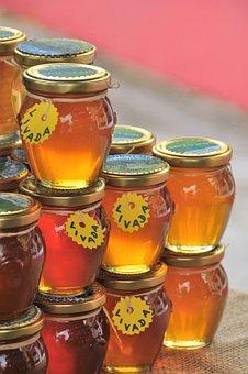 Honey, Glasses, Food, Sweeteners, Glass, Sugar