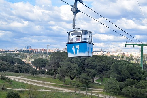 Cable Car, Seventeen, 17, Madrid, High