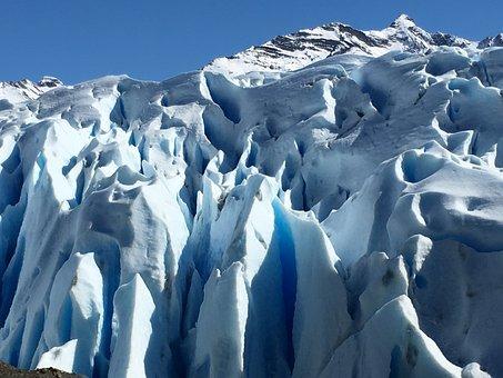 Glacier, Argentina, Patagonia, Ice