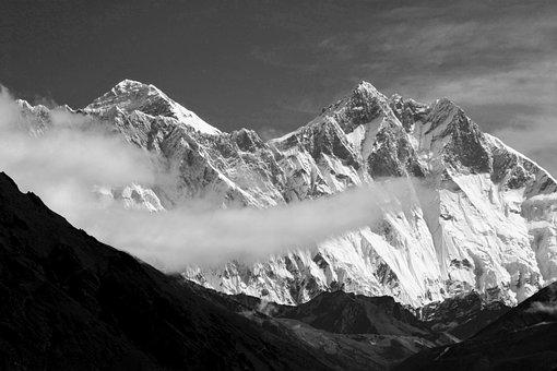 Everest, Lhotse, Nepal, Khumbu, Mountain, Himalaya