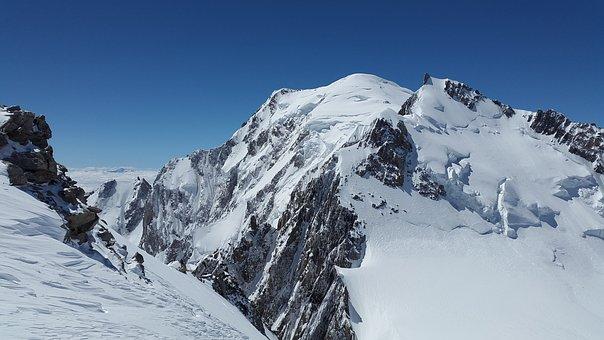 Mont Maudit, Mont Blanc, High Mountains, Chamonix
