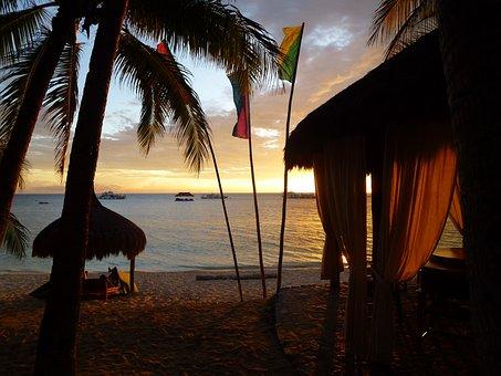 Coco Grove, Sunset, Resort, Philippines, Sand, Exotic
