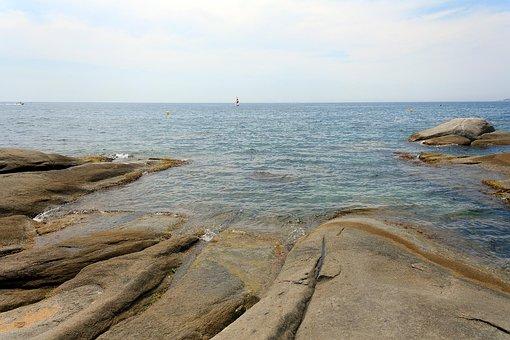 Sea, Rocks, Ocean, Nature, Beach, Travel, Summer, Sky
