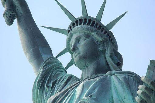 Statue Of Liberty, America, Close, Usa, Lens