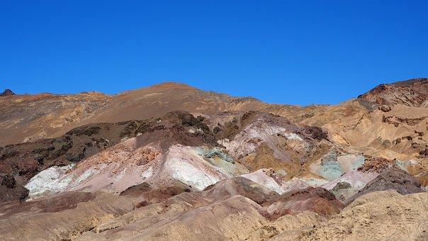Valley, Death, The Artist's, Palette