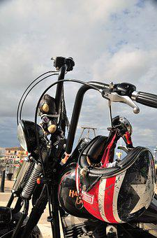 Motorcycle, Helm, Vehicle, Two Wheeled Vehicle