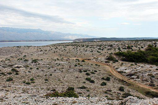 Landscape, Karg, Crossroads, Way, Cross, Nature, Dry