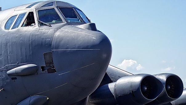 Bomber, B-52, Strategic Bomber, Usaf, Airplane